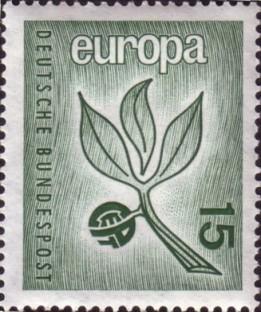 Timbru scos de Germania(RFG)